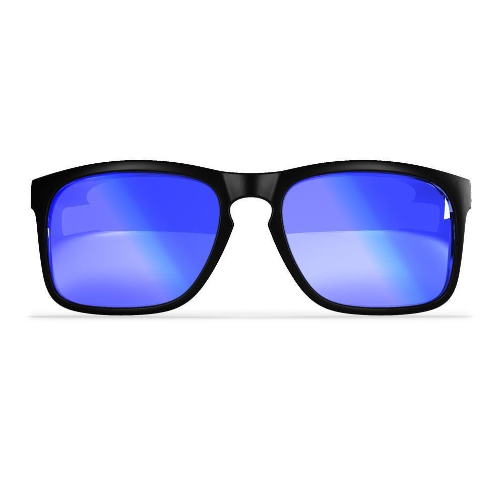 Sili Hera Sports Lunettes de soleil TR90Cadre léger et flexible–polarisées 100% protection UVA/B Max Clarté Verres en polycarbonate–BMX Moto Golf Surf Skate–Résistant aux chocs–Accoudoirs amo IX5oSJvKz