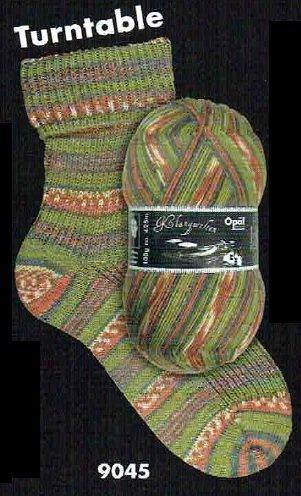 Opal Fil de chaussette - Mondes du son 9045 tourne-disque