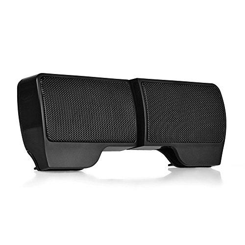 USB Lautsprecher, Myguru Mini PC Musikbox mit Halterung 3,5 mm Stereo Audio Speaker für Laptop Notebook Computer