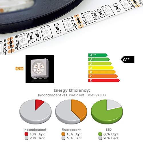 1m 2m 3m 4m 5m DC 12V Wasserdicht IP65 5050 RGB LED Fee Beleuchtung Stripe Licht Streifen (1 Meter)