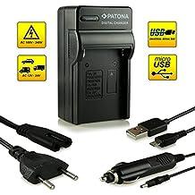 4in1 Caricabatteria NP-FM500H per Sony Alpha 57 SLT-A57 | 58 SLT-A58 | 65 SLT-A65 | 77 SLT-A77 | 99 SLT-A99 | DSLR-A200 | DSLR-A300 | DSLR-A350 | DSLR-A450 | DSLR-A500 | DSLR-A550 | DSLR-A560 | DSLR-A580 | DSLR-A700 | DSLR-A850 | DSLR-A900 e più…
