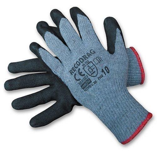 12 paar Arbeitshandschuhe Gr. 10 Latexbeschichtung Handschuhe (Power Paar Kostüme)