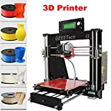 Paneltech 3D Drucker LCD Reprap Prusa i3 Pro B MK8 Extruder MK2A Heatbed,DIY 3D Printer Full kit