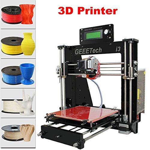 LCD PANEL Tech Geeetech Imprimante 3D Reprap Prusa I3Pro B MK8extrudeuse Mk2A Heatbed, DIY 3D Printer Kit