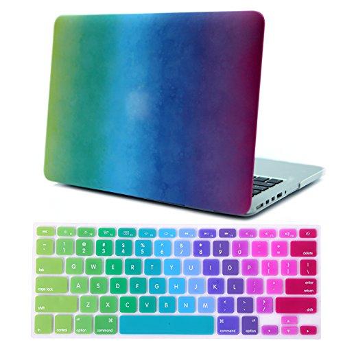 HDE Hartplastik-Hülle und Tastaturabdeckung für das MacBook