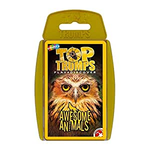 Top Trumps Awesome Animals Card Game