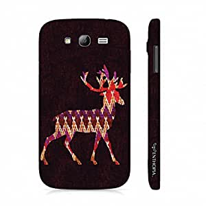 Samsung Galaxy J5 Wintery Deer designer mobile hard shell case by Enthopia