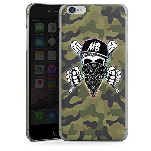 Apple iPhone X Silikon Hülle Case Schutzhülle Montanablack Fanartikel Merchandise MontanaBlack Base Camo Hard Case anthrazit-klar