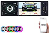 Creasono Autoradios: MP3-Autoradio mit TFT-Farbdisplay, Bluetooth, Freisprecher, 4X 45 Watt (Autoradios 1 DIN, Bluetooth)