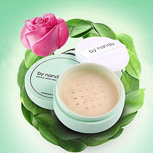 FAVOLOOK, cipria traslucida in polvere, make up per viso professionale, waterproof, per finitura della pelle (etichetta in lingua italiana non garantita)