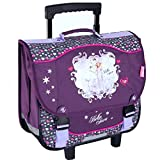 Cartable à roulettes Cheval Bella Sara Majestic 41 cm