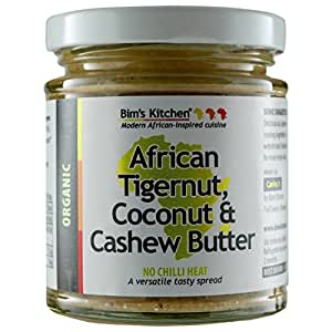 Bim's Kitchen Organic African Tigernut/Coconut and Cashew Butter 190 g
