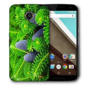 Snoogg Black Fruit Printed Protective Phone Back Case Cover For LG Google Nexus 6
