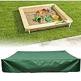 Lxxzz Quadrato Verde Giardino Bambino Giocattolo Sandbox Copertura Giardino Piccola Vasca da Bagno Parasole Impermeabile Anti-UV e Anti-sbiadimento,120 * 120