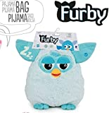Furby Glow in the Dark Pyjama Bag with Sound - You choose the colour - Pink or Blue