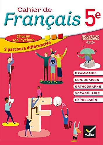 Cahier de Français 5e éd. 2016 - Cahier de l'élève par Annie Lomné