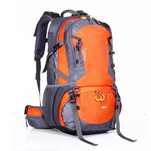 Rucksack Rucksack Wandern Outdoor Bergsteigen Reisen Casual Daypack Hochleistungs-Taschen,Orange Orange