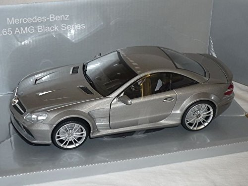 mercedes-benz-sl65-sl-65-amg-black-series-silber-grau-1-18-mondo-motors-modellauto-modell-auto