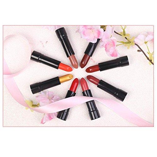Rouges à lèvres, Sansee 1PCS GEL & Acrylique Nail Art Conseils Conception Dotting Peinture Pen Polish Brush Set (CINNO #07)