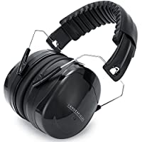 Ear Defenders Adult - Foldable Shooting Earmuffs Headphones – Hearing Protection Ear Muffs Noise Cancelling - Professional Ear Defenders for Working, Shooting, Gardening - Adjustable Headband for Adults Men Women – 32dB Noise Reduction NRR Safety – 2 Years Warranty - Vanderfields DBPRO44 Protective