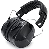 Lärmschutz Kopfhörer Gehörschutz Kapselgehörschutz Schutzkopfhörer - Faltbar Komfortabel Gehoerschutz für