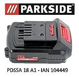 Parkside Batterie 18V 1,5Ah, Pap 18 -1,5A1,pour visseuse rotative à chocs...