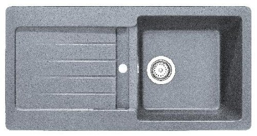 Teka Küchenspüle Kea 45 B-TG Alugraumetallic