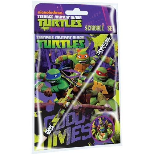 Anker Teenage Mutant Ninja Turtles Stationery Character Scribble-Set Fleece-turtle