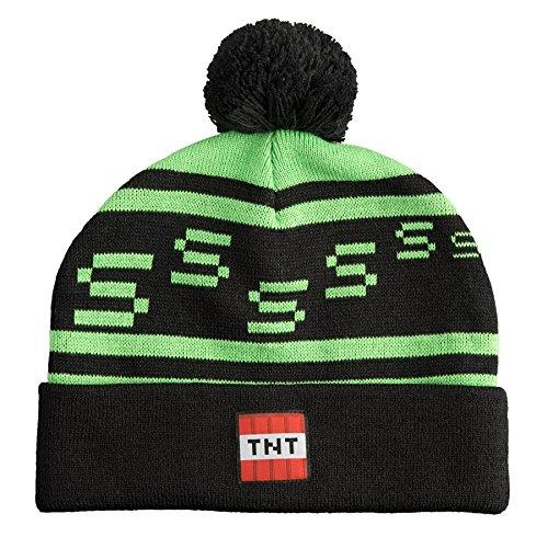 Minecraft TNT Beanie - M / L (Minecraft Beanie Mütze)