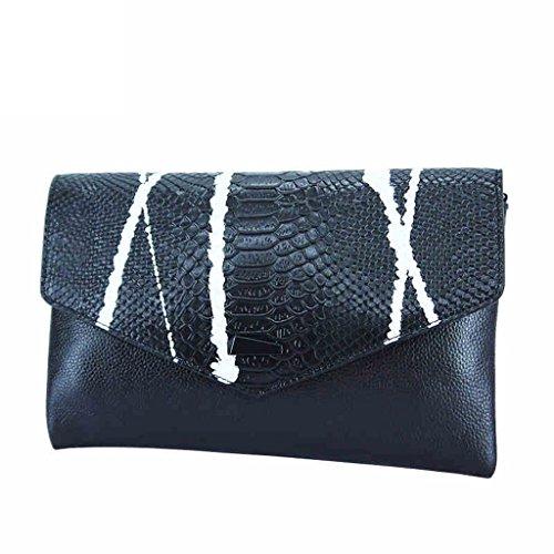 Borsa a mano nuova borsa in pelle femminile a strisce