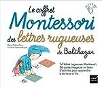Le coffret Montessori des lettres rug...
