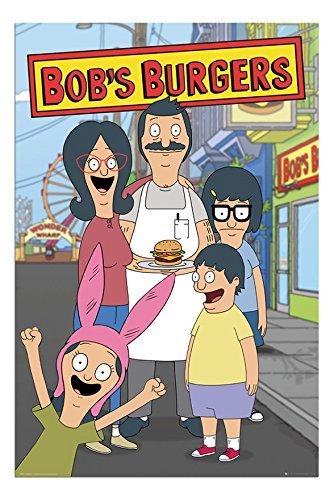 Bob Burgers Famiglia Poster Laminato Lucido - 91,5 x 61cm (36 x 24 Pollici)