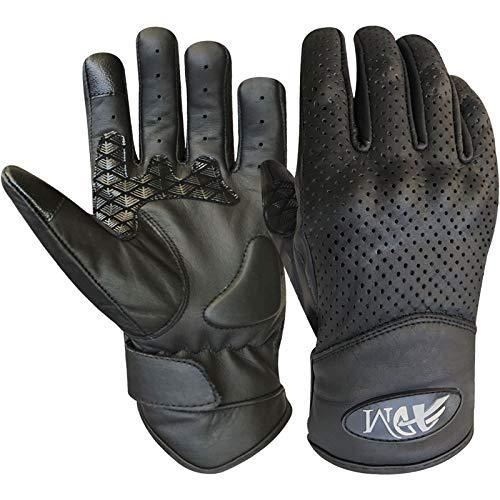 Prime de moto Racing Moto Gants de sport avec grip en silicone et I Touch Noir Couleur 9006 noir Noir xx-large