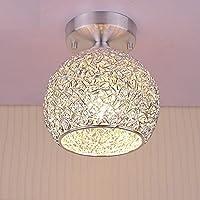 Amazon ceiling lights lighting modern ceiling light ceiling lamp in aluminum lampshade for bedroom living room hallway aloadofball Choice Image