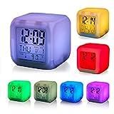 Best Digital Alarm Clock - Buyerzone 7 Colour Changing LED Digital Alarm Clock Review