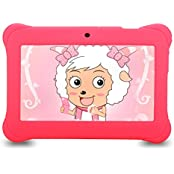 iRULU BabyPad 1 Tablet (Y1), 7 Tablet para niños, 1GB RAM, 8GB Nand Flash Quad Core, Android 4.4 Kit