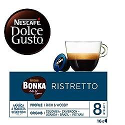 NESCAFÉ Dolce Gusto Café Bonka Ristretto | Pack de 16 Cápsulas