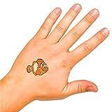 German Trendseller® - Mega Kinder Tattoos Set┃ Kindergeburtstag ┃ Mitgebsel ┃ 36 Stück