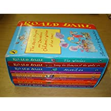 Roald Dahl: box set 10 volumes - incl The Twits, Going Solo, Matilda, The Witches, Charlie and the Chocolate Factory....