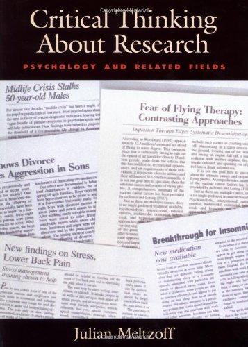 meltzoff j. (1998). critical thinking about research psychology and related fields (série: planejamento de pesquisa nas ciências sociai  meltzoff, j (1998) critical thinking about research: psychology and related fields.