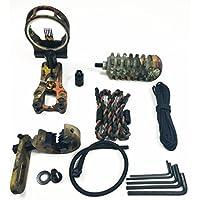 7 en 1 de camuflaje Archery accesorios esenciales Combo compuesto kit de accesorios de Bow Set