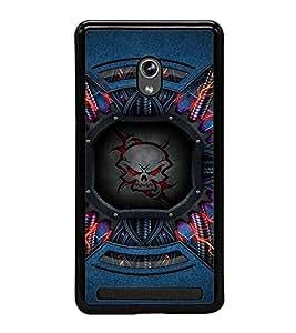 Fuson Designer Back Case Cover for Asus Zenfone 5 A501CG (Skeletal red eyes sparkling sparkles )