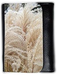 le portefeuille de grands luxe femmes avec beaucoup de compartiments // M00156447 Espadaña de hierba de trigo Naturaleza // Medium Size Wallet