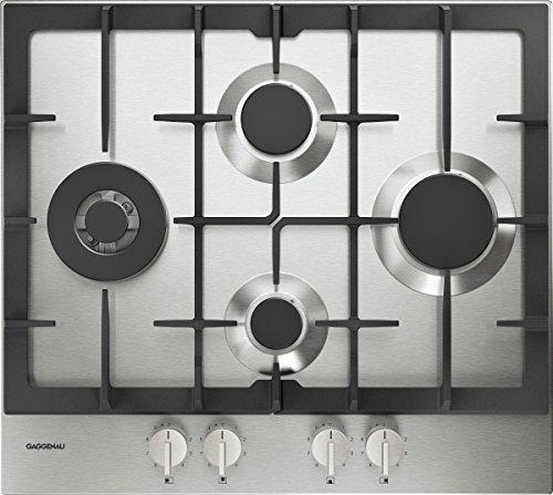Gaggenau Piano cottura a gas CG 261 210 finitura acciaio da 60cm