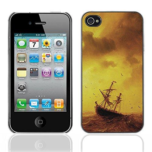Graphic4You I Love House Musik Design Harte Hülle Case Tasche Schutzhülle für Apple iPhone 4 und 4S Design #3