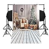 kingko® Weihnachten Backdrops Hochzeit Fotohintergrund Rosa Fotoleinwand Weiss Hintergrund Fotografie Wedding Fotohintergrund Hochzeit Vintage Fotohintergrund Textur (H)
