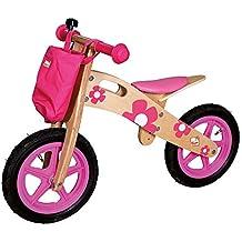 Bino 82707 - Bicicletta, Rosa, Legno