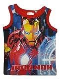 Avengers Camiseta de Tirantes - Para Niño Rojo 6 Años