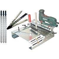 Trenn-Biber 012L-3 + lame per seghetto alternativo Metabo Bosch Festool + 3 lame lunghe per legno T-albero per seghe alternative segare laminato