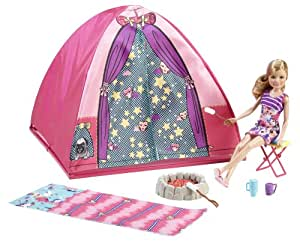 Barbie Sisters Camp Out Tent and Stacie Doll